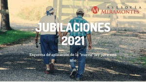 CAMBIOS EN LA JUBILACIÓN PARA 2021